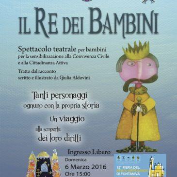 Il Re dei Bambini fa tappa a Fontaniva