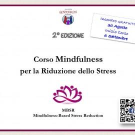 Incontro gratuito introduttivo a un Programma per la Riduzione dello Stress